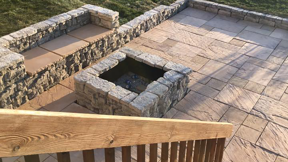Fire Pits Landscaiping Services